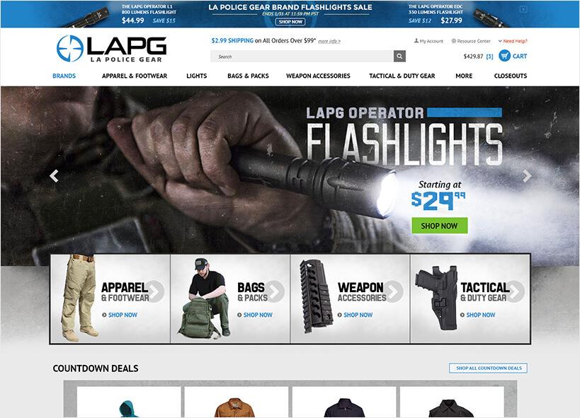 L.A. Police Gear