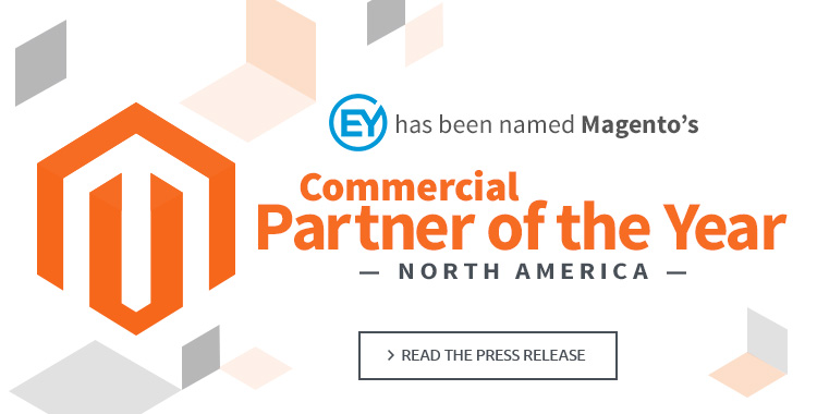Eystudios named Magento Commercial Partner of the Year in North America